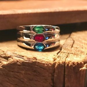 Jewelry - SILVER 3 STONE RING